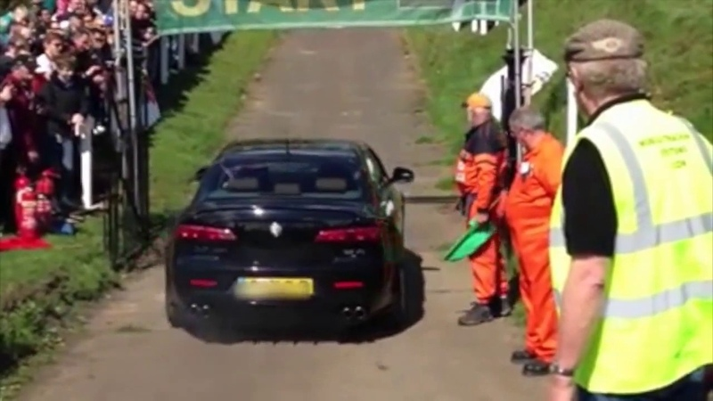 Alfa Romeo 159 3 2 TURBO brutal acceleration and sound exhaust
