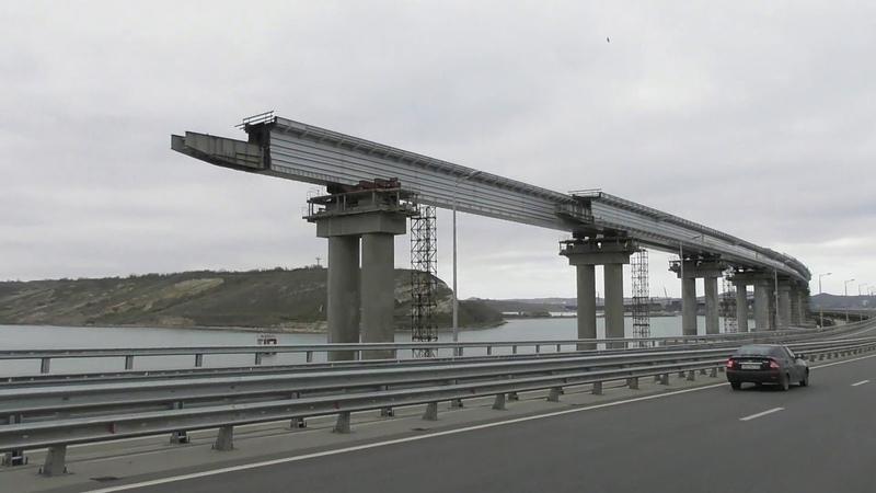 Керченский Мост 18 11 2018 Обратная дорога