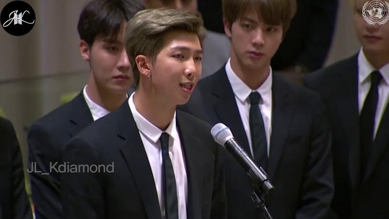 [BTS] FULL United Nation UN SPEECH 2018 Youth2030 GenUnlimited UNGA BTSxUnitedNations 방탄소년단 유엔연설