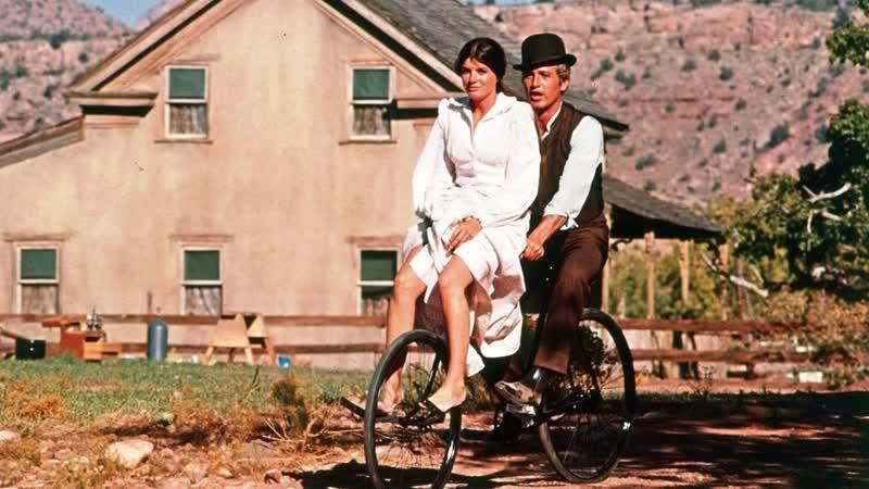 B. J. Thomas - Raindrops Keep Fallin On My Head (Butch Cassidy Sundance Kid Movie - Bicycle Scene)