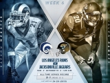 NFL 2017-2018 | Regular season | Week 6 | Los Angeles Rams vs Jacksonville Jaguars | (ENG)