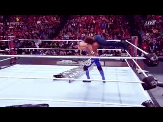 Dean Ambrose vs AJ Styles TLC - 2016