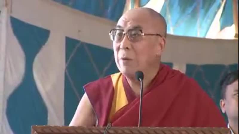 Далай-лама об уверенности и целостной картине мира