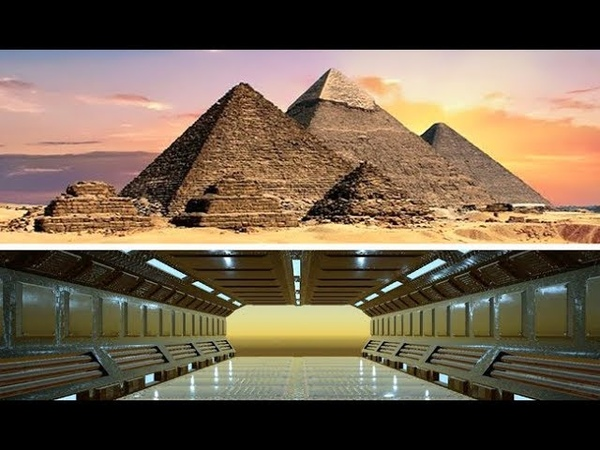 Ученых аж затрясло Обнаружен секретный бункер пришельцев под пирамидой Египта