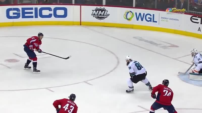San Jose Sharks vs Washington Capitals - Jan 22, 2019 - Game Highlights - NHL 2018-19 - НХЛ