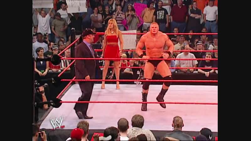 Brock Lesnar Vs Tommy Dreamer Singapore Cane Match RAW 22 07 2002