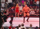 Brock Lesnar Vs Tommy Dreamer - Singapore Cane Match - RAW 22.07.2002