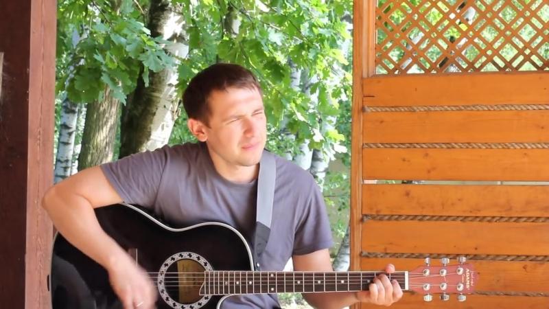 Жаль - моя песня_ Красивая песня под гитару _ авторская песня на даче у друзей под трели соловья.mp4