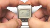 Tetris on Seiko UC-2000