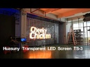 Huasuny Transparent Glass LED Video Wall P3.9 Trans Eyes Windows LED Screen