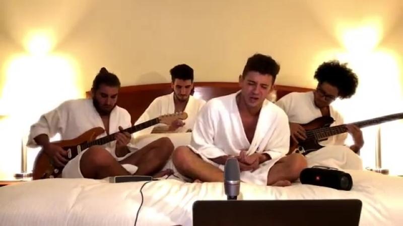 Ruggero Pasquarelli The Room Service - CALYPSO (LUIS FONSI) Live.mp4