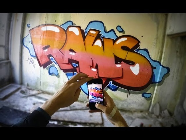 RAWS ABANDONED SESSION Graffiti