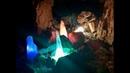 За цветными сосульками. Каменоломня Ледяная. Старицкий район, Тверская область, март 2019