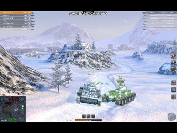 Pz. III в блице тает снег