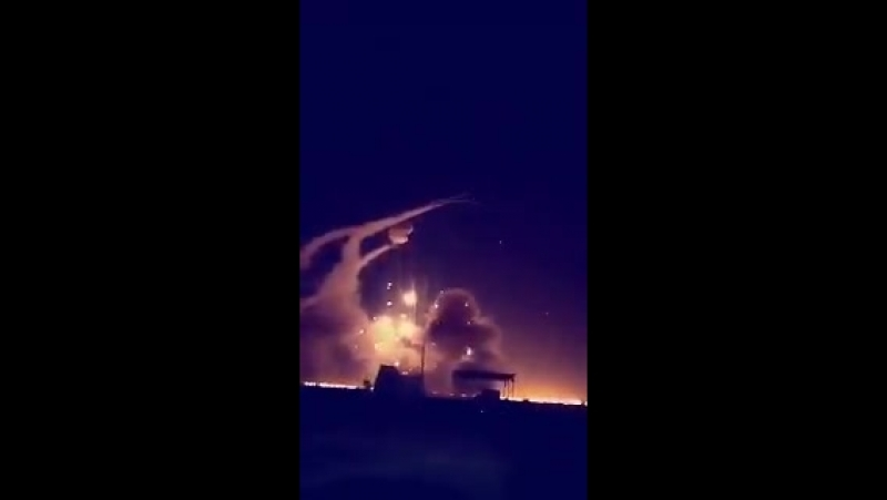 Here's another video shows that another Patriot missile exploded shortly after launch. - Trump is selling expired weapons to the