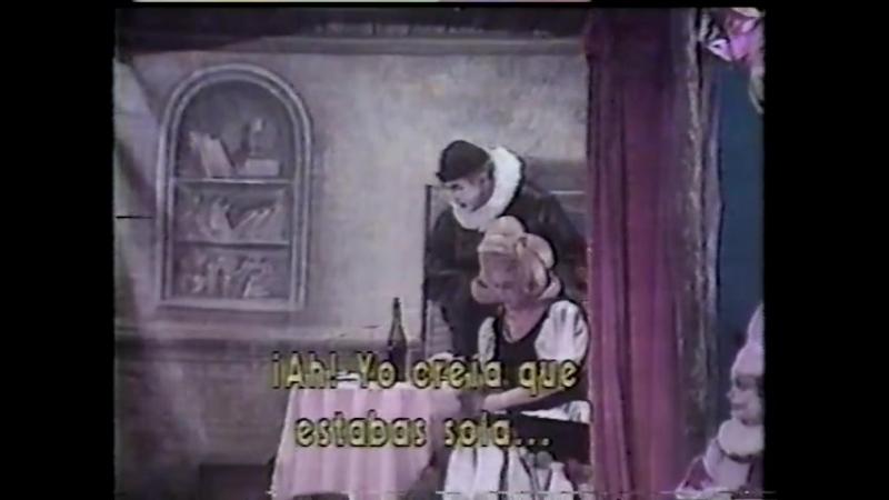 Pagliacci - Plácido Domingo, Andrade, Escudero, Nieto, Ibarra, Guadalaja 1982