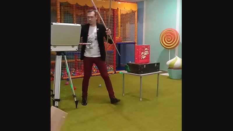 Детский юбилей - фокусник Сергей Вознесенский