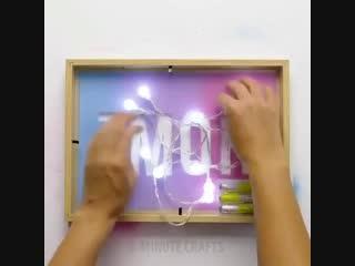 Декорируем комнату фоторамками