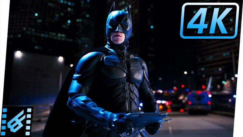 Batman's First Appearance | The Dark Knight Rises (2012) Movie Clip