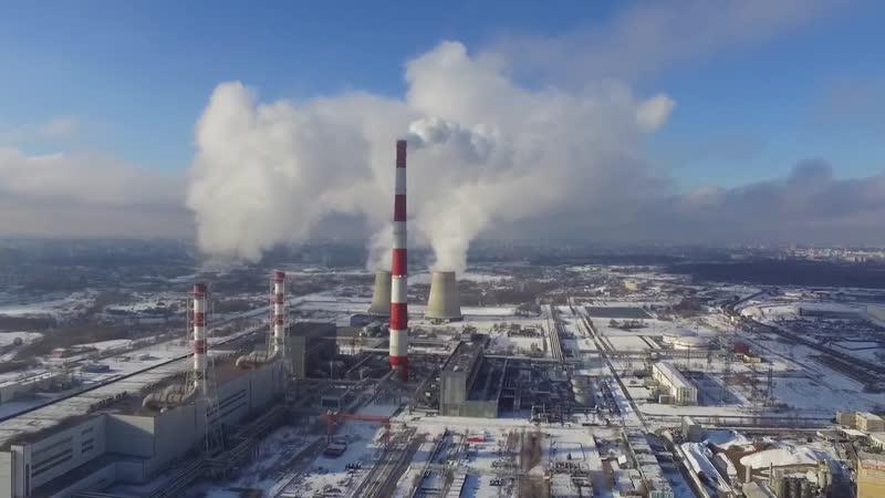 Северная ТЭЦ на Осташковском шоссе.