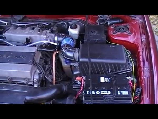 Установка водородного генератора на двигатель 1 5