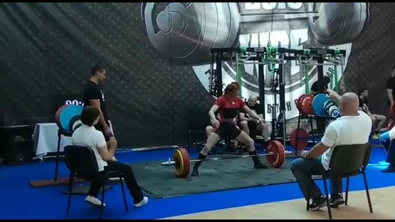 Виктория Аблаева тяга 200 кг