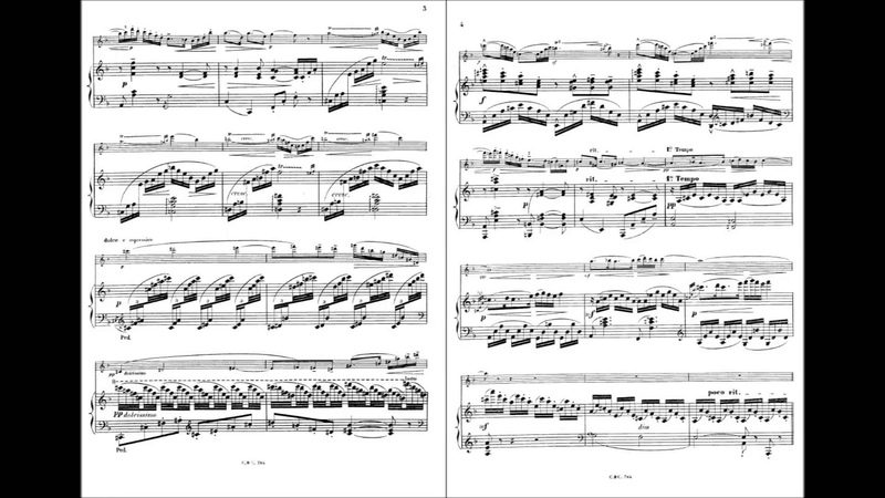 Andante et Scherzo pour Flûte et Piano (Louis Ganne)