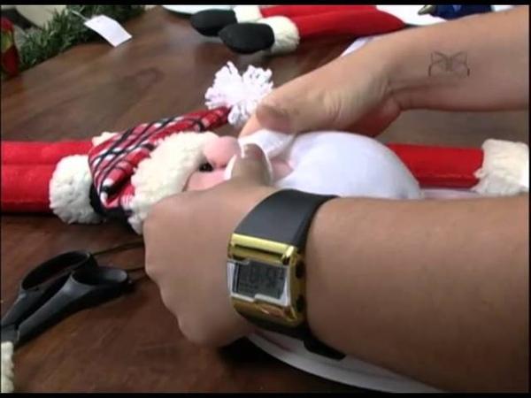 Mulher.com - 07/11/2012 - Amanda Lousada - Relógio Papai Noel 02