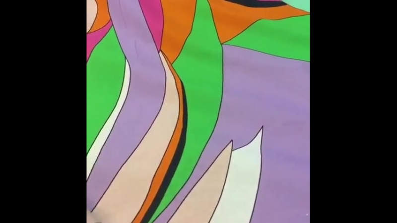 Итальянский хлопковый ситец с рисунком в стиле Emilio Pucci. ⭐️примечание: ткань купонная, рапорт 1,43м. ⭐️ширина: 145см ⭐️соста