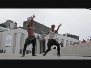 Jayane and kayliss ¦ french dancehall blazin twins in montreal canada yak films
