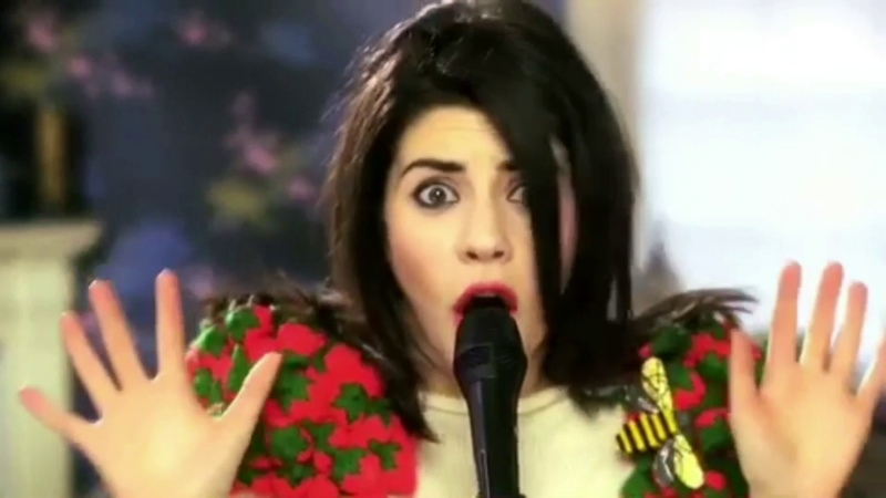 Marina And The Diamonds Hollywood Actually my name's Marina