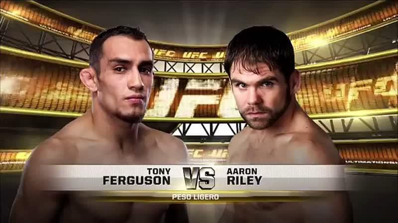 Tony Ferguson vs Aaron Riley