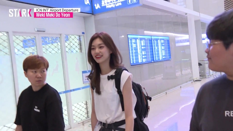 Weki Meki Do Yeon_ICN INT Airport Departure (위키미키 도연 인천국제공항 출국)