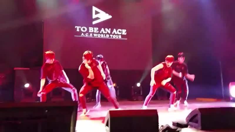 FANCAM | 16.11.18 | A.C.E (Bang Bang Bang Good Boy) @ Fan-con 'To Be An ACE' in Argentina
