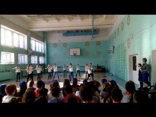 II МЕСТО по АЭРОБИКЕ среди 5-7 классов!