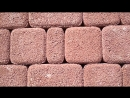 Тротуарная плитка Выбор, форма Классико коллекция Гранит цвет красный