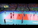 12.09.2018. 2125 - Волейбол. Чемпионат мира. Мужчины. 1 тур. Группа