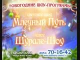 Новогодние шоу-программы в Набережночелнинском дельфинарии