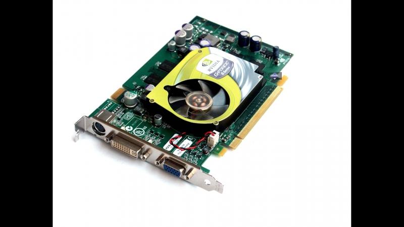 Лагает видеокарта Nvidia Gf 6600
