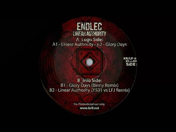 Endlec - Linear Authority (X501 vs LFJ Remix) [KRLF001]