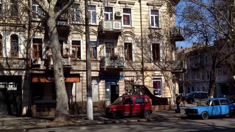 Галопом по Одессе Молдаванка