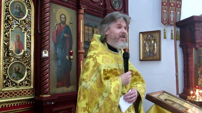Иерей Сергий Макаров проповедь в день памяти прп Саввы Сторожевского Звенигородского