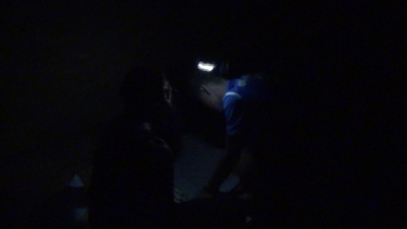 Эпизод ночного квеста мореплавателей