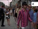Late 1960s King's Road London, 60s Fashion, Street Style, 35mm Archive Footage