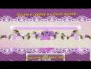 С Днем рождения в МАЕ очень красивое видео поздравление музыка и цветы МАЯ.mp4