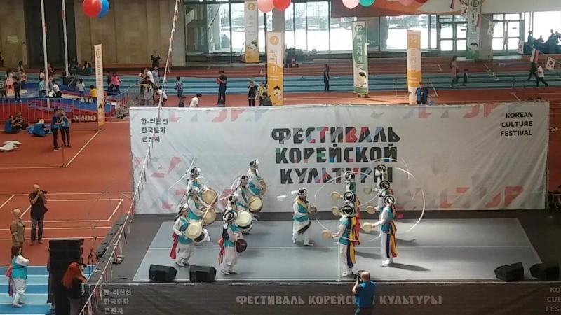 25 Фестиваль корейской культуры. Самульнори