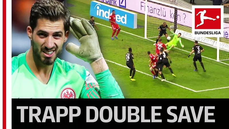 Kevin Trapp's Sensational Double Save Against Bayern