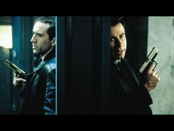 боевик детектив Без лица 1997 Джон Траволта, Николас Кейдж фильм фильмы детективы триллеры