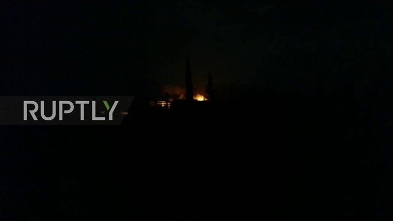 Syria: Explosions reported at Syrian military bases in Hama and Aleppo