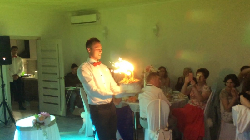 Волшебные моменты нашего праздника...Самый лучший день))